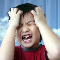 children temper tantrums