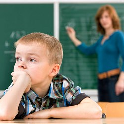 Children with Attention deficit hyperactivity disorder (ADHD)