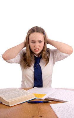 Children Exam Stress causes